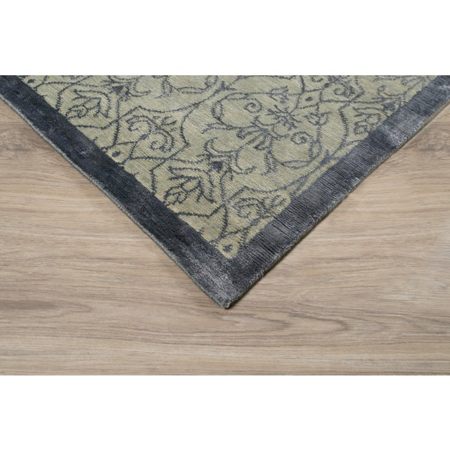 Stark Studio Rugs Contemporary New Oriental Rug - 10 x 14, 60% Wool/40% Silk To care for your rug, it's best to have your...
