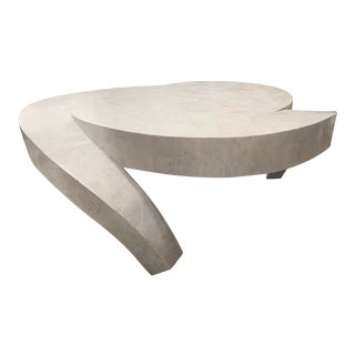 Vintage Tessellated Marble Coffee Table For Sale