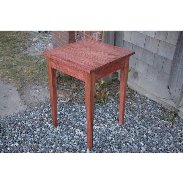 Shaker Sedona Poplar Side Table - Image 2 of 5