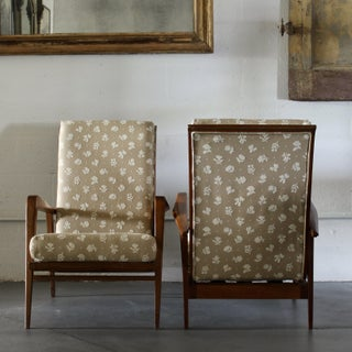 Pair of Mid-Century Reclining Chairs Preview