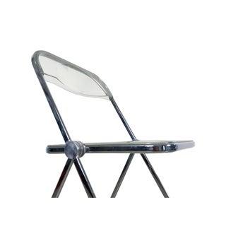 """1970s Vintage Giancarlo Piretti """"Plia"""" Chrome Folding Chairs for Castelli- a Pair Preview"""