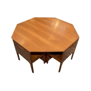Mid-Century Childrens Teak Table & Chairs - Set of 5 For Sale