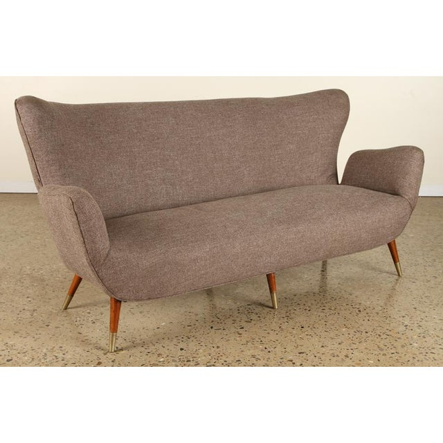 1960s Five Leg Butterfly Settee For Sale - Image 5 of 5