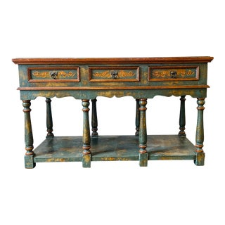 Tuscan Painted Buffet For Sale