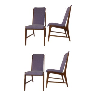 Mid-Century Modern Kagan Style Sculptura Sling Chairs - Set of 4 For Sale