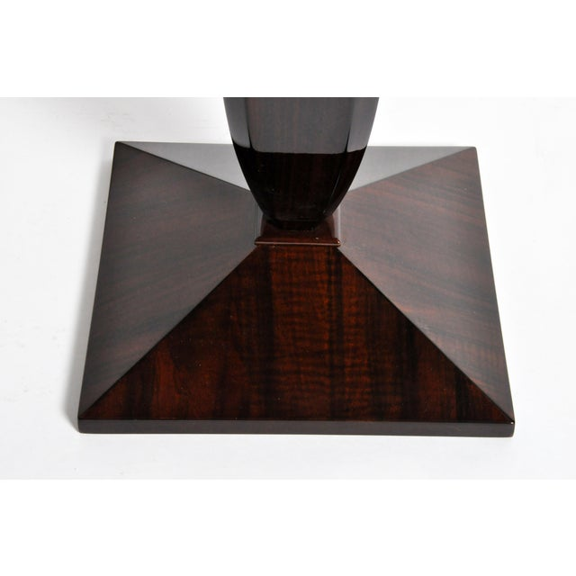 Art Deco Style Square Side Table For Sale - Image 10 of 11