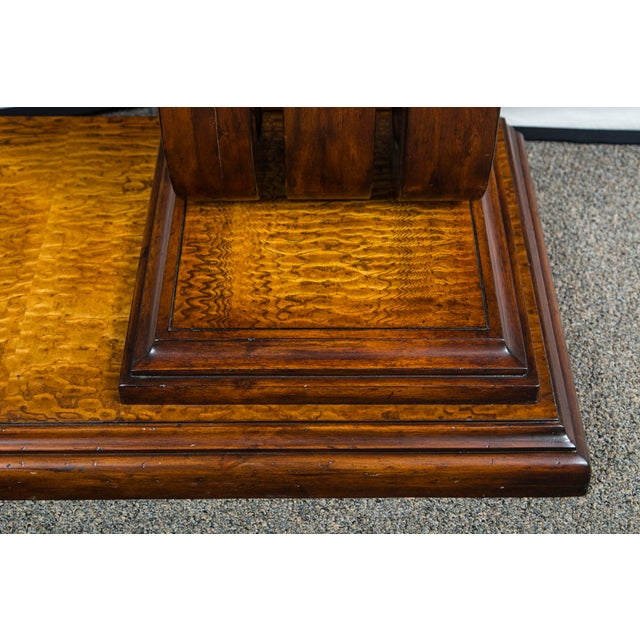 Traditional John Richards Walnut Console Table For Sale In New York - Image 6 of 6