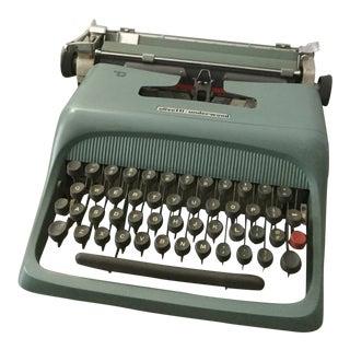 1960 Vintage Olivetti Underwood Typewriter Machine For Sale