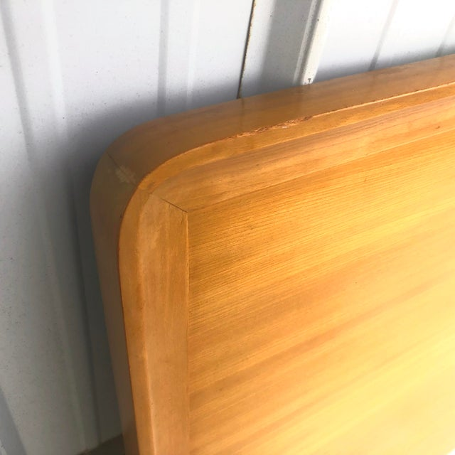 Wood Mid-Century Full Size Headboard by Edward Wormley for Drexel For Sale - Image 7 of 12