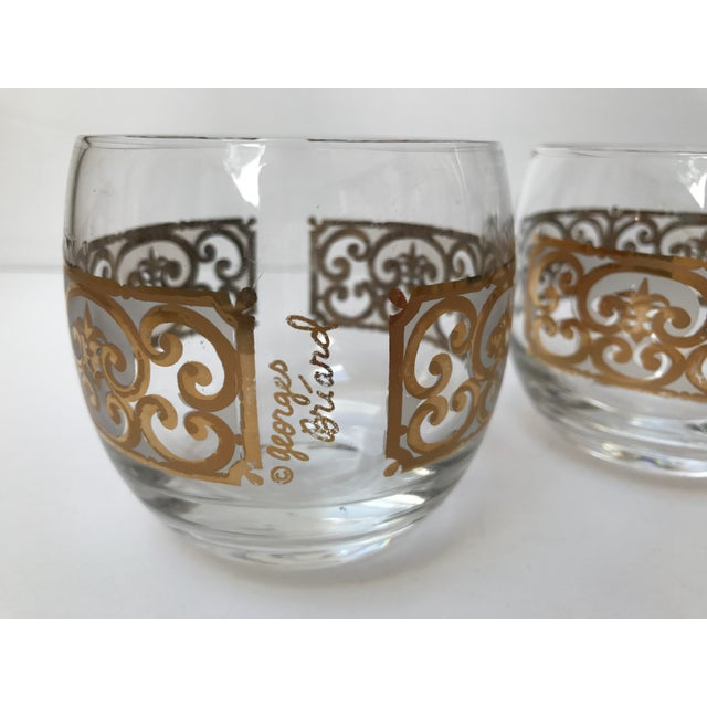 Georges Briard Roly Poly Filligree Glasses -- A Pair - Image 3 of 5