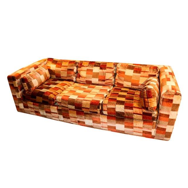 Mid-Century Milo Baughman Style Sofa - Image 1 of 10