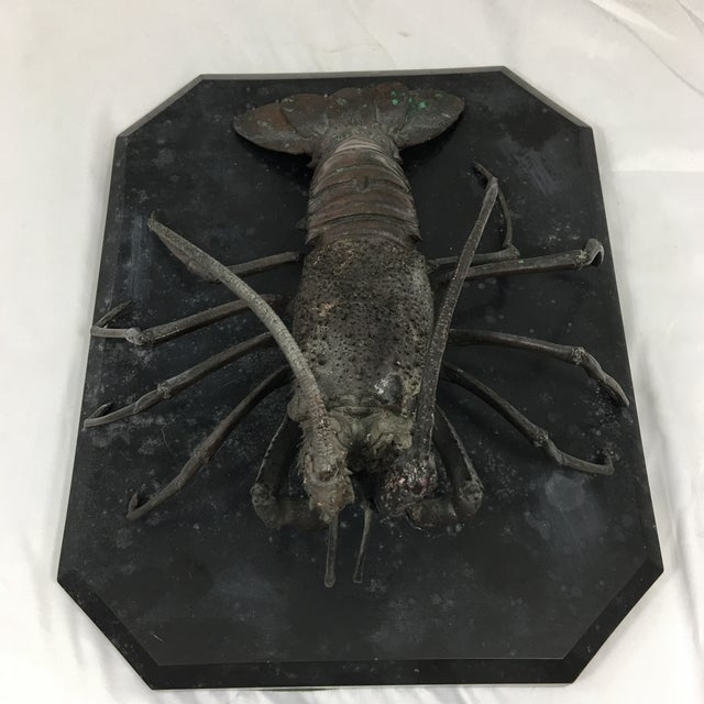 Figurative Cast Bronze French Lobster For Sale - Image 3 of 6