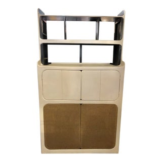 20th Century Modern Michael Dormer Media Storage Cabinet For Sale