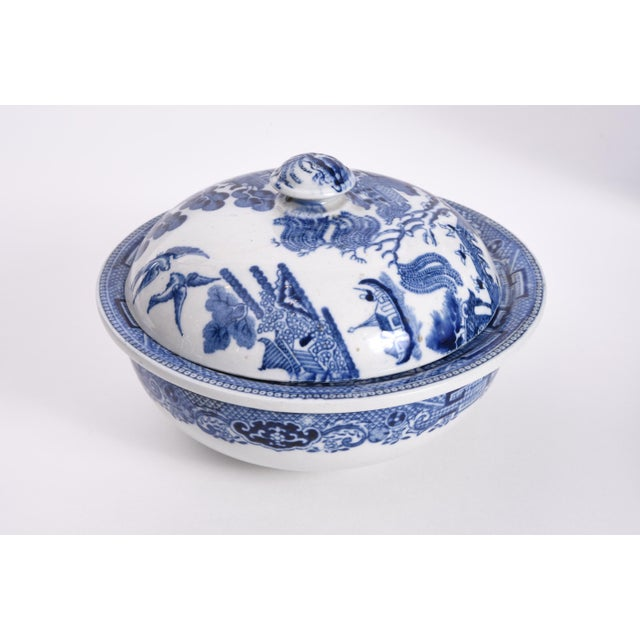 Blue Wedgwood England Porcelain Dinnerware - 5 Piece Set For Sale - Image 8 of 12