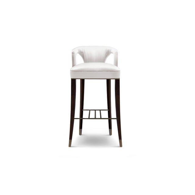 Modern Karoo Bar Chair From Covet Paris For Sale - Image 3 of 3