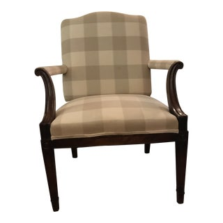 19th Century Sheridan Style Arm Chair For Sale