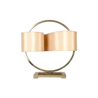 Modernist Table Lamp With Continuous Shade