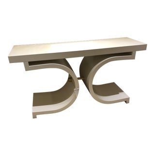 Scalamandre Linley Console Table For Sale