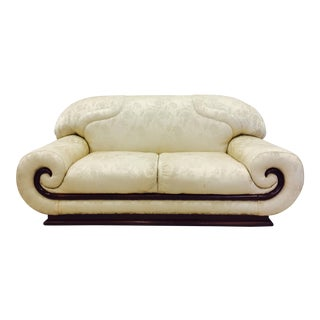 Vintage Asian - Modern Art Deco Sofa For Sale