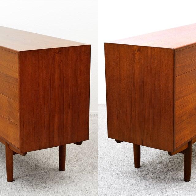 Danish Modern Mid Century Borge Mogensen Teak Dresser for Soborg Mobler For Sale - Image 3 of 13