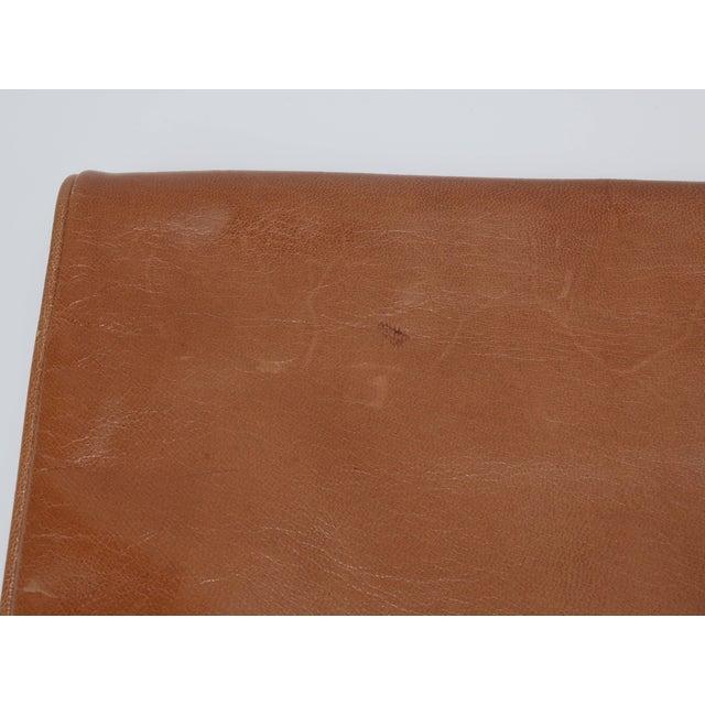 1970's Bottega Veneta Large Envelope Leather Clutch Handbag For Sale - Image 9 of 12