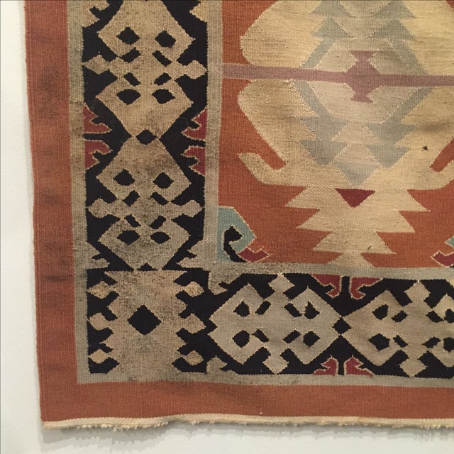 Neutral Tone Kilim Rug - 5′5″ × 8′ - Image 5 of 7