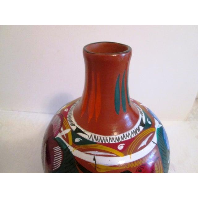 Mexican Artisan Ceramic Water Jug - Image 5 of 7