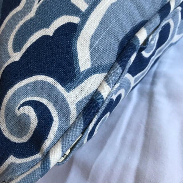 Textile Sarah Richardson for Kravet Lumbar Pillow For Sale - Image 7 of 8