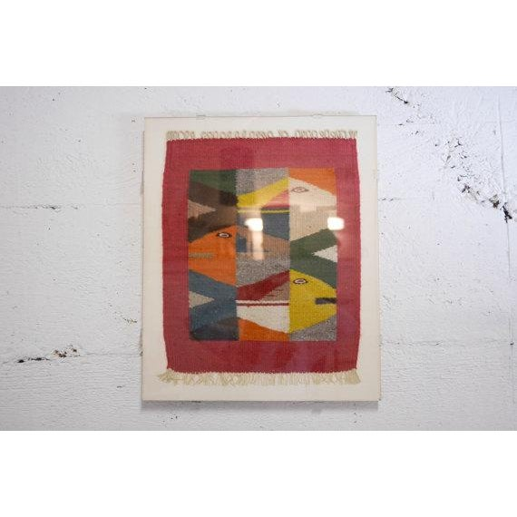 Vintage Oaxaca Fish Tapestry - Image 6 of 6