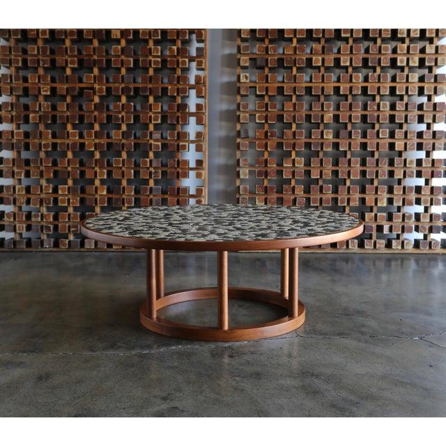 White Jane & Gordon Martz Ceramic Tile Coffee Table for Marshall Studios, Circa 1960 For Sale - Image 8 of 11