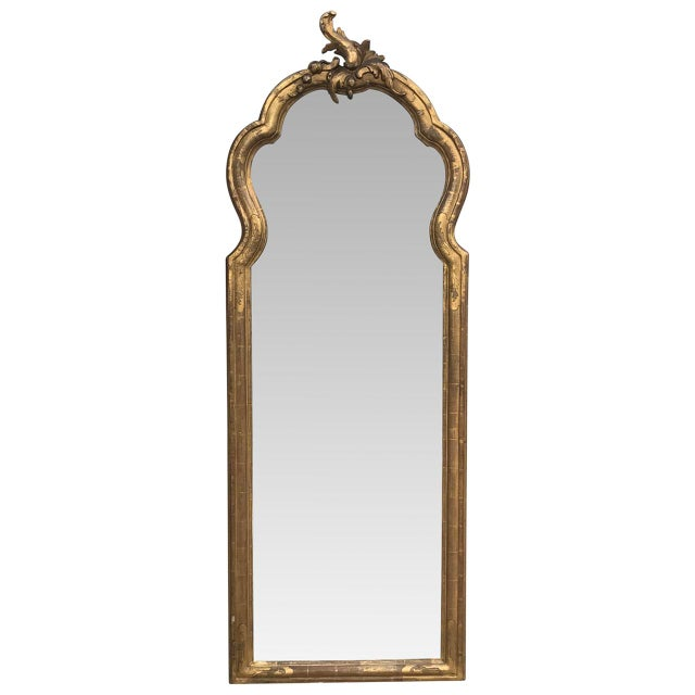 Early 19th Century 19th C. French Giltwood Mirror For Sale - Image 5 of 5
