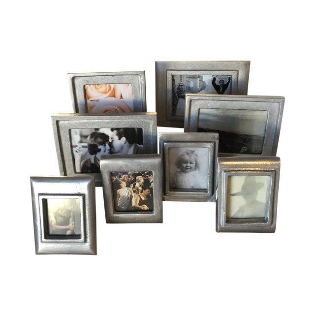 Vintage Metal Picture Frames - Set of 8 - Image 1 of 5