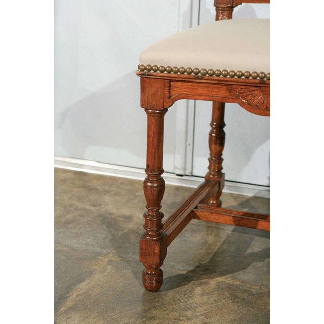 French Dining Side Chairs - Set of 12 For Sale - Image 3 of 9