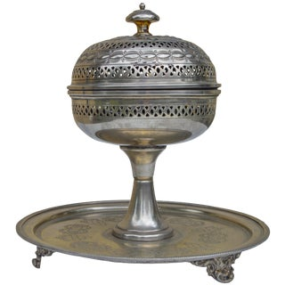 Engraved Moorish Incense Burner For Sale