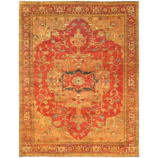 """Pasargad Serapi Collection Wool Rug - 2' 11"""" X 5' 1"""" For Sale"""