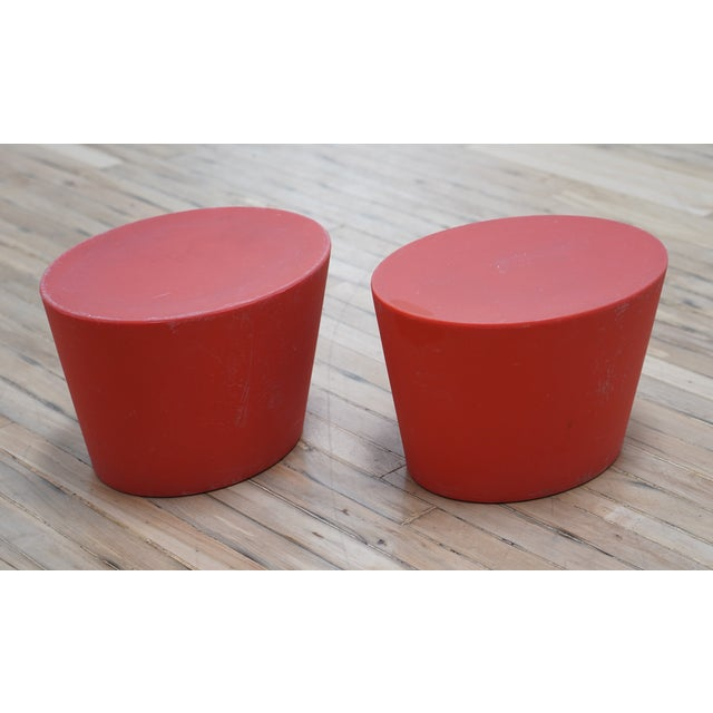 Knoll International Maya Lin for Knoll Studio Outdoor Child's Seats - a Pair For Sale - Image 4 of 6