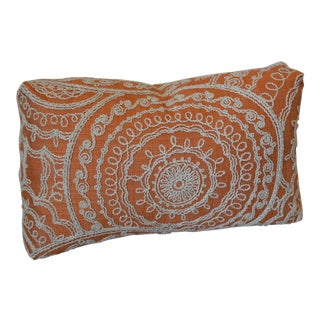 Kravet Embroidered Turkish Style Pillow For Sale