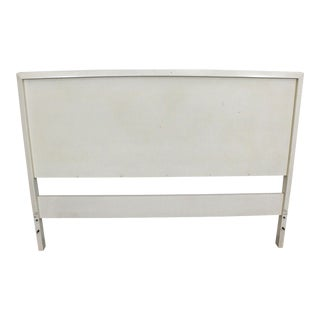 Mid-Century Modern Paul McCobb for Planner Group White Full Size Headboard For Sale