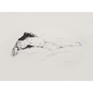 "1939 Alexander Brook ""Sleep"" Original Period Lithograph For Sale"