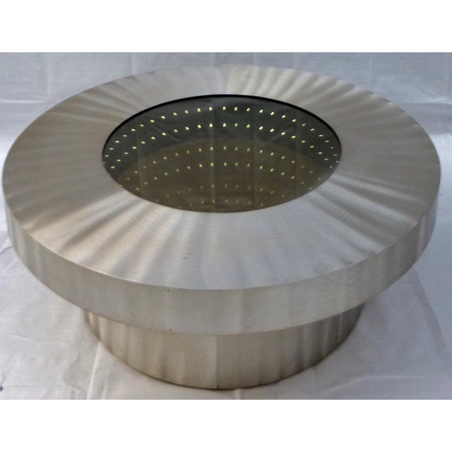 The Nova Infinite Tunnel Coffee Table For Sale - Image 11 of 11
