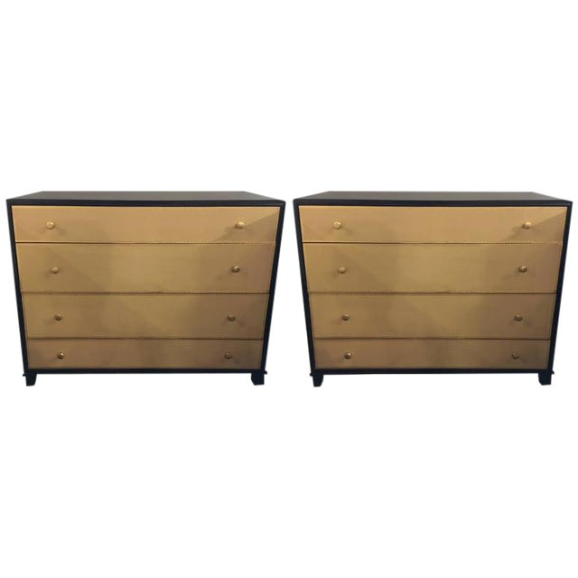 Hollywood Regency Commodes - A Pair - Image 1 of 7