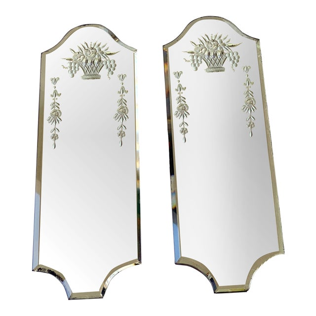 Venetian Mirrors - a Pair For Sale