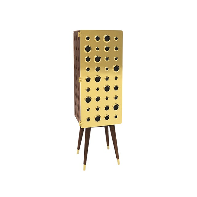 A stylish and functional piece of furniture, that blends mid-century charm with a contemporary design style. Monocles...