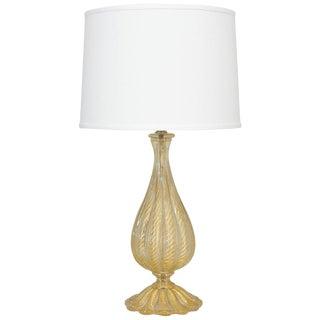 Barovier Murano Glass Lamp For Sale