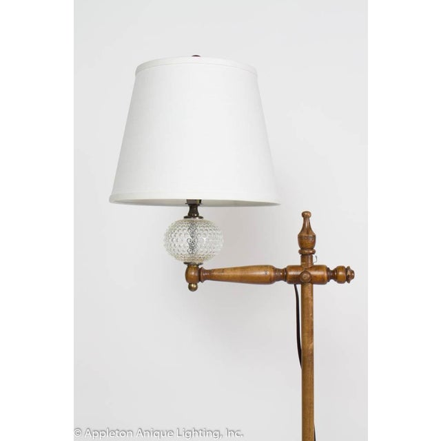 Restored Vintage Cottage Wooden Floor Lamp Chairish