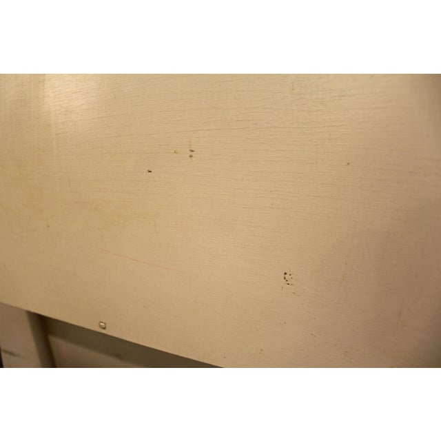 Mid-Century Danish Modern White Paul McCobb Planner Group Full Size Headboard For Sale In Philadelphia - Image 6 of 11