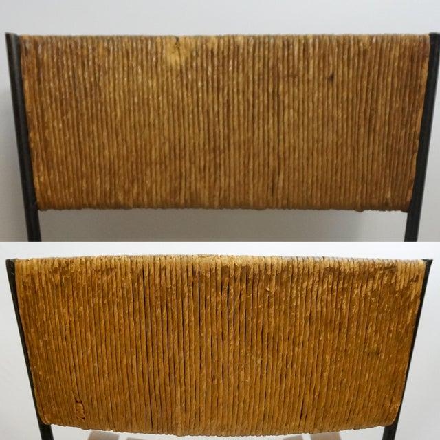 Arthur Umanoff Mid-Century Iron Bar Stools - Set of 5 - Image 10 of 11