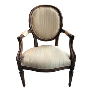 19th Century Vintage French Fauteuil For Sale