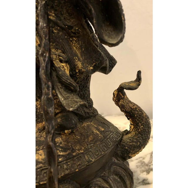 18th-19th Century Figure One of the Three Gods of Good Fortune For Sale - Image 11 of 13