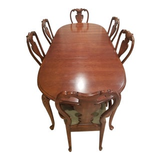 Thomasville Dining Set - 7 Pieces For Sale